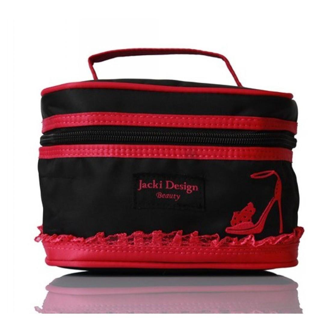 Necessaire com bordado de Sapato Jacki Design