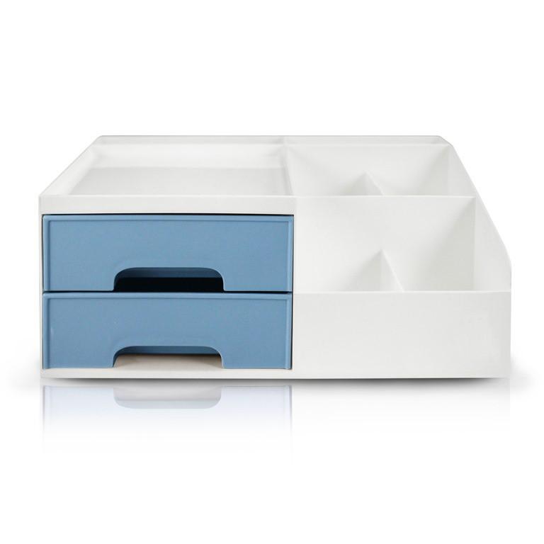 Organizador Multiuso de 2 Gavetas de Mesa Lifestyle Jacki Design