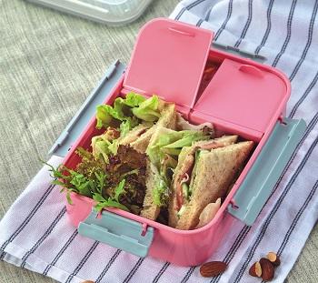 Pote Marmita Lifestyle com 3 Compartimentos 1100 ml Jacki Design