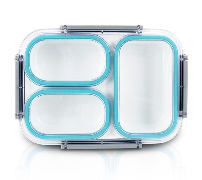 Pote Marmita Lifestyle com 3 Compartimentos 1590 ml Jacki Design