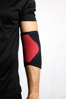 Cotoveleira 5mm - Acction Brasil - Crossfit - Black Red