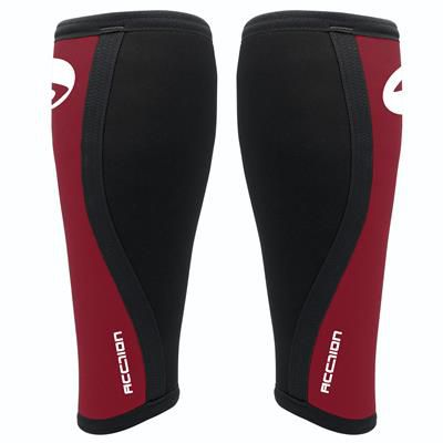 Caneleira - 5mm - Acction Brasil - Crossfit - Black Red Fr