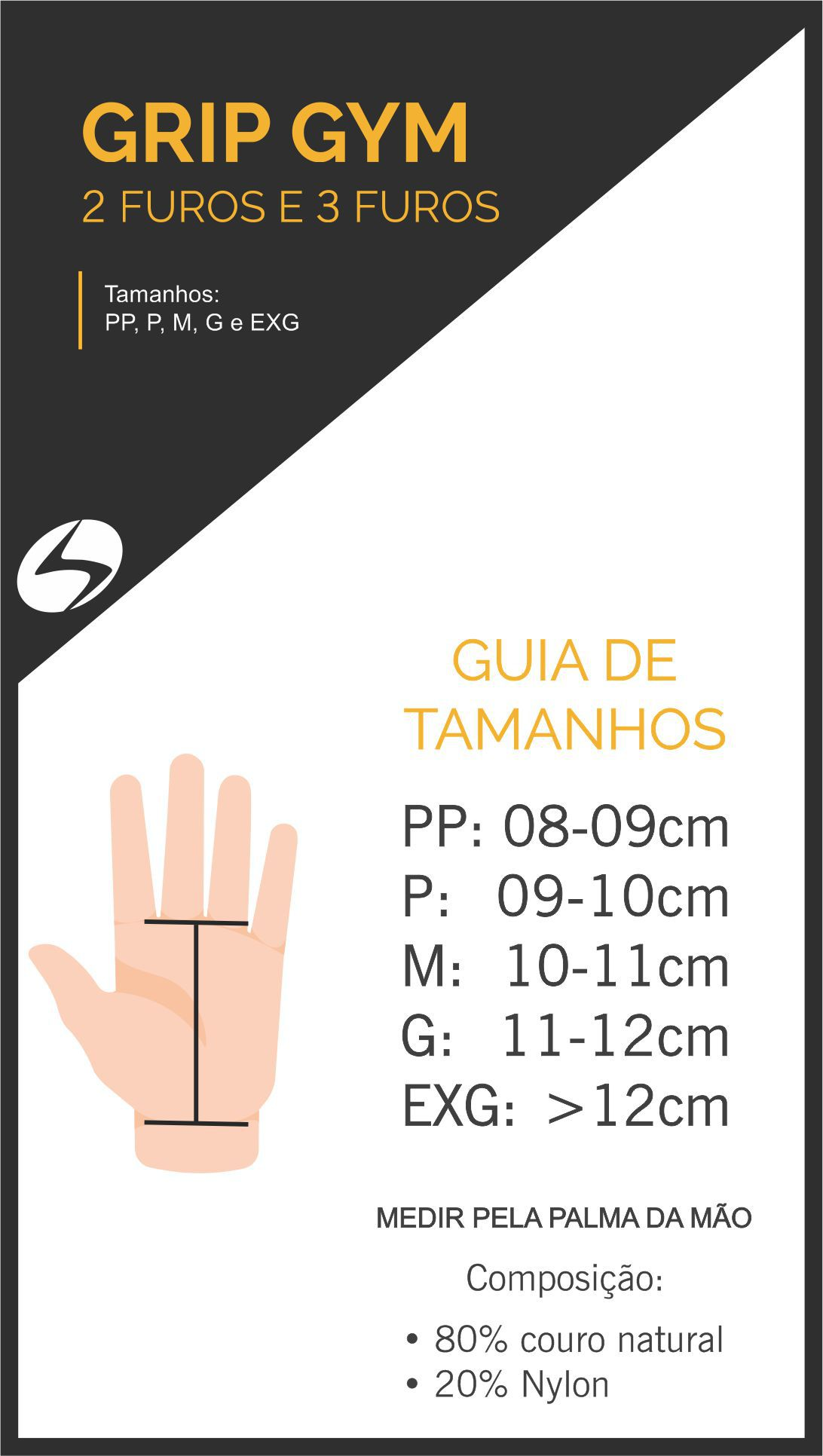 Grip Gym Basic 2.0 - Hand Grip - Crossfit - Vermelho