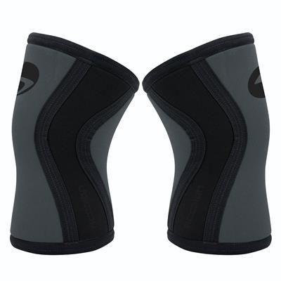 Joelheira 7mm - Acction Brasil - Crossfit - Silver Black  - Fr