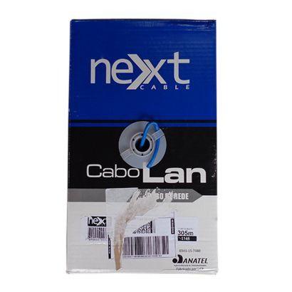 CABO DE REDE CAT5 E CMX 4P AZ CX 305M - NEXT