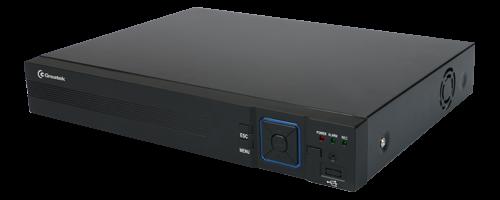 DVR HVR 5X1 DE 04 CANAIS P2P 1080N PRETO METAL - C/ SAIDA ANALOGICA GR