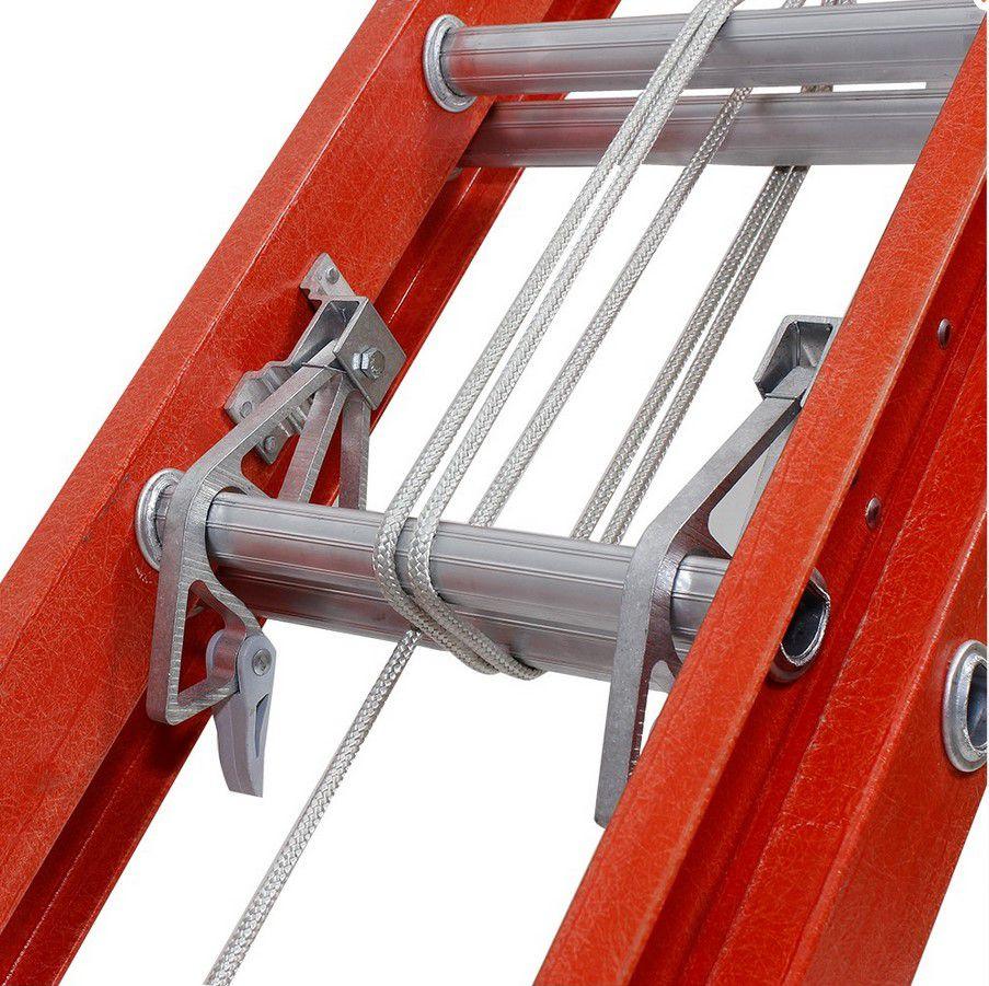 Escada Cogumelo Fibra de Vidro Extensivel Vazada Efv-29