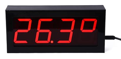 SW-11DSP Monitor de temperatura, umidade WIFI SNMP relógio