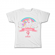 Camiseta Personalizada Aniversário