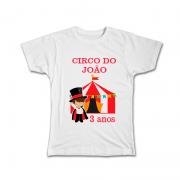 Camiseta Personalizada Tema Circo