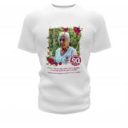 Camisetas Personalizadas para Aniversário de 50 anos