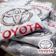 Cliente Toyota - Camiseta Polo Poliéster - Técnica Sublimação