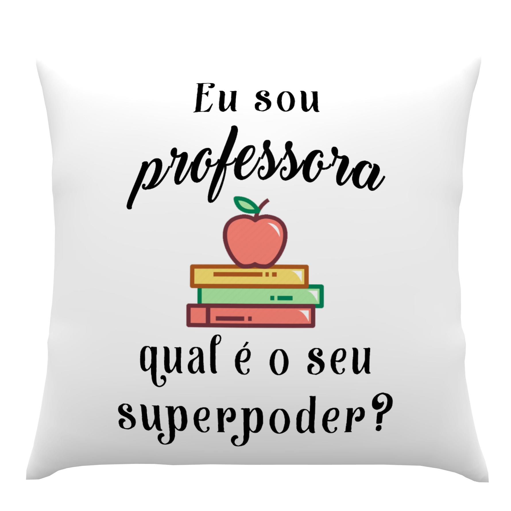 Almofadas Personalizadas Dia do Professor