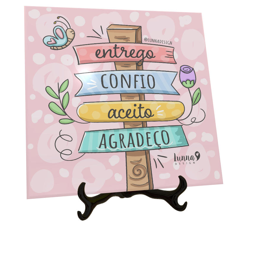 Azulejos Personalizados com Frases