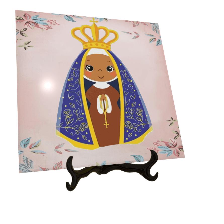 Azulejos Personalizados com Imagens de Santos