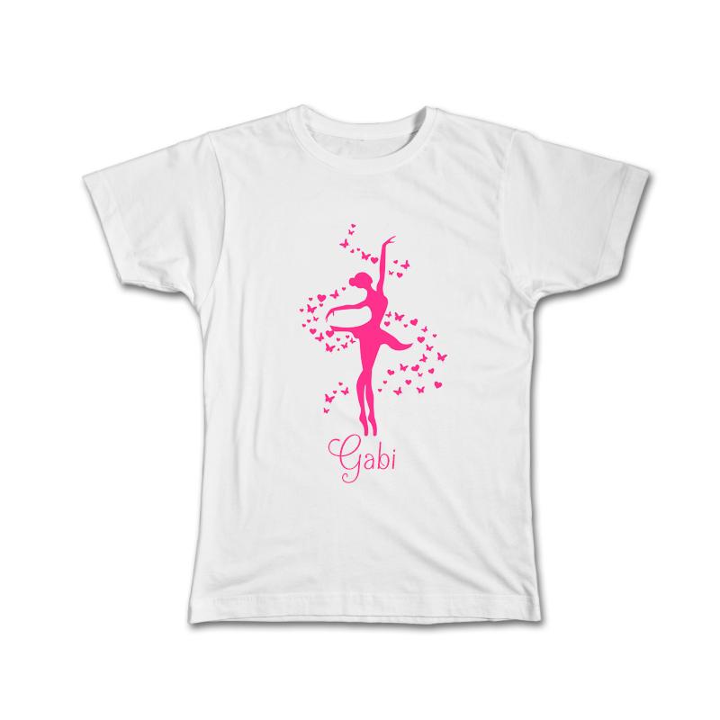 Camiseta Personalizada Bailarina