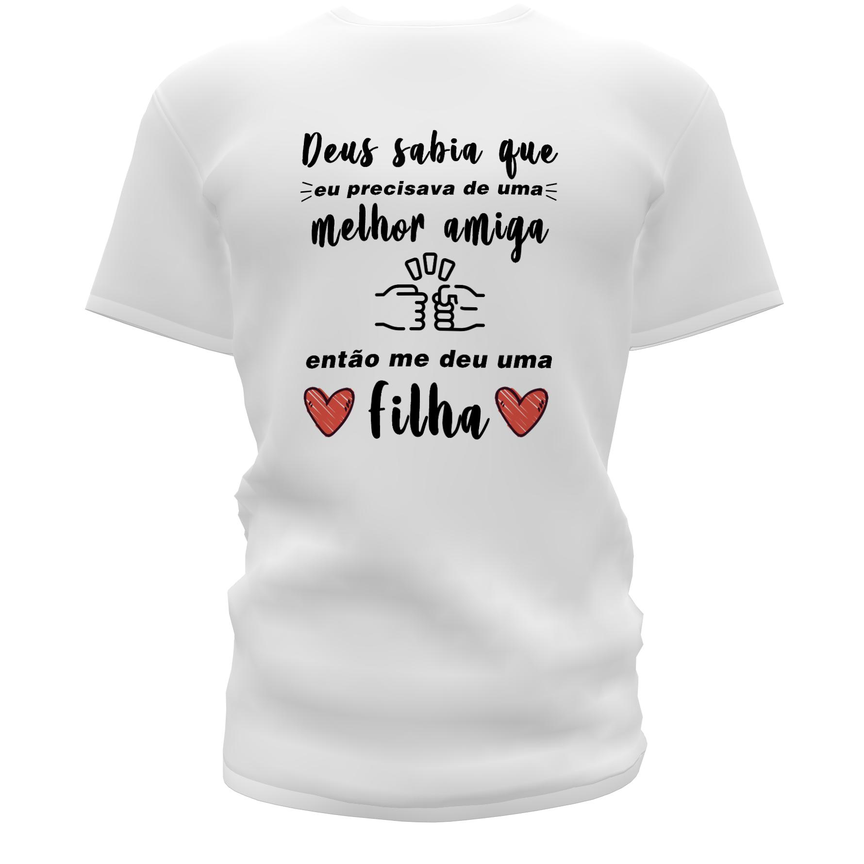 Camisetas Personalizadas Pai e Filha