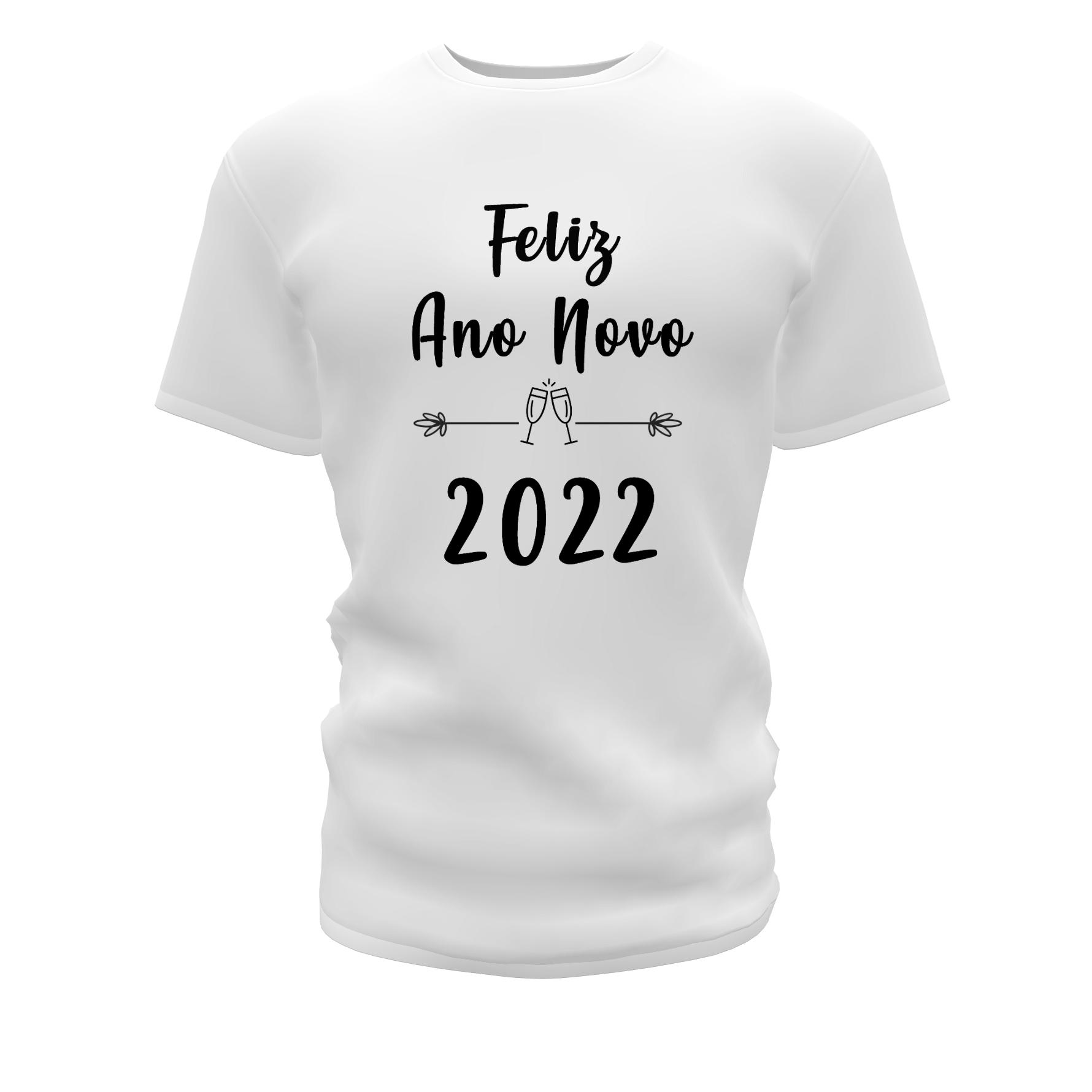 Camisetas Personalizadas para Ano Novo