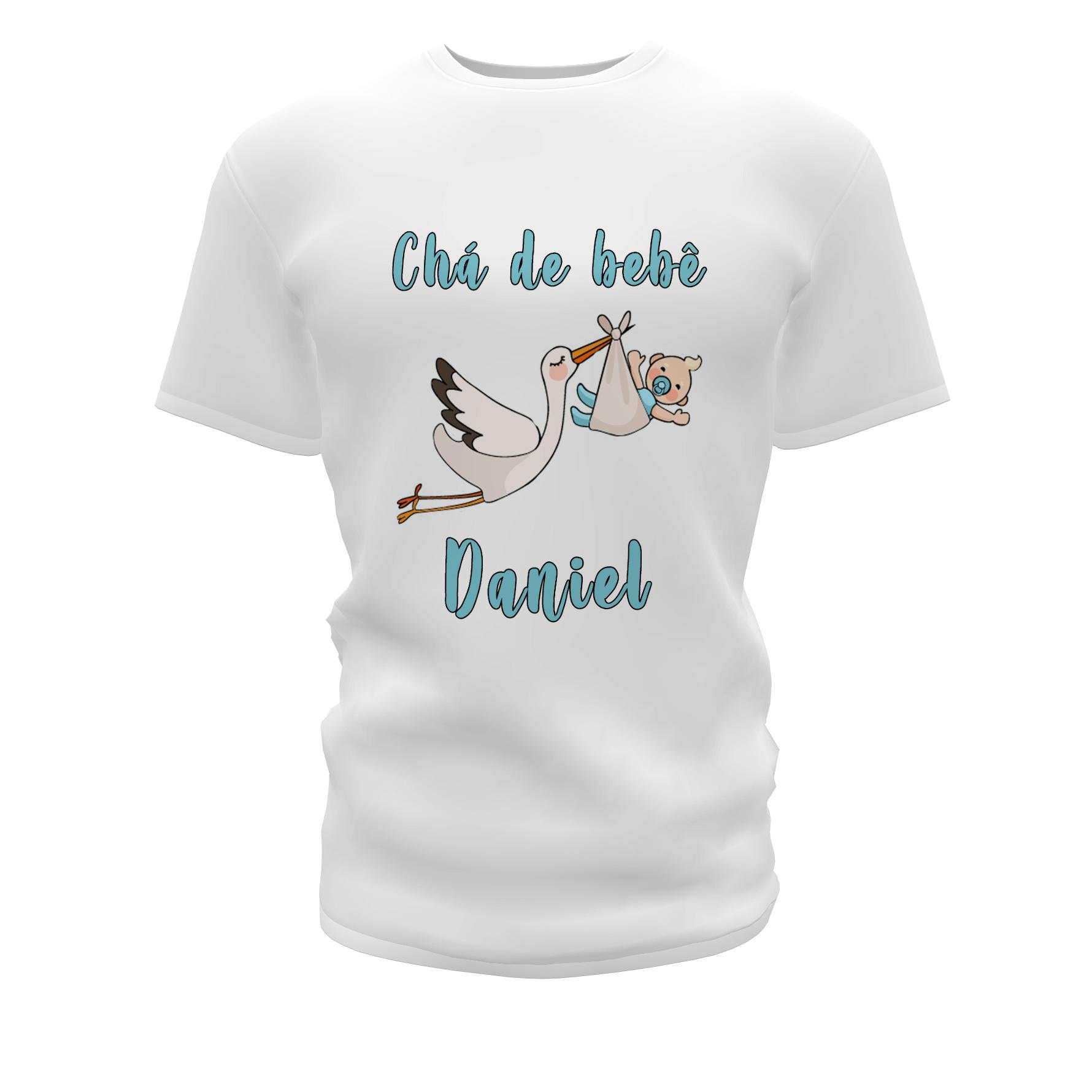 Camisetas Personalizadas para Chá de Bebê