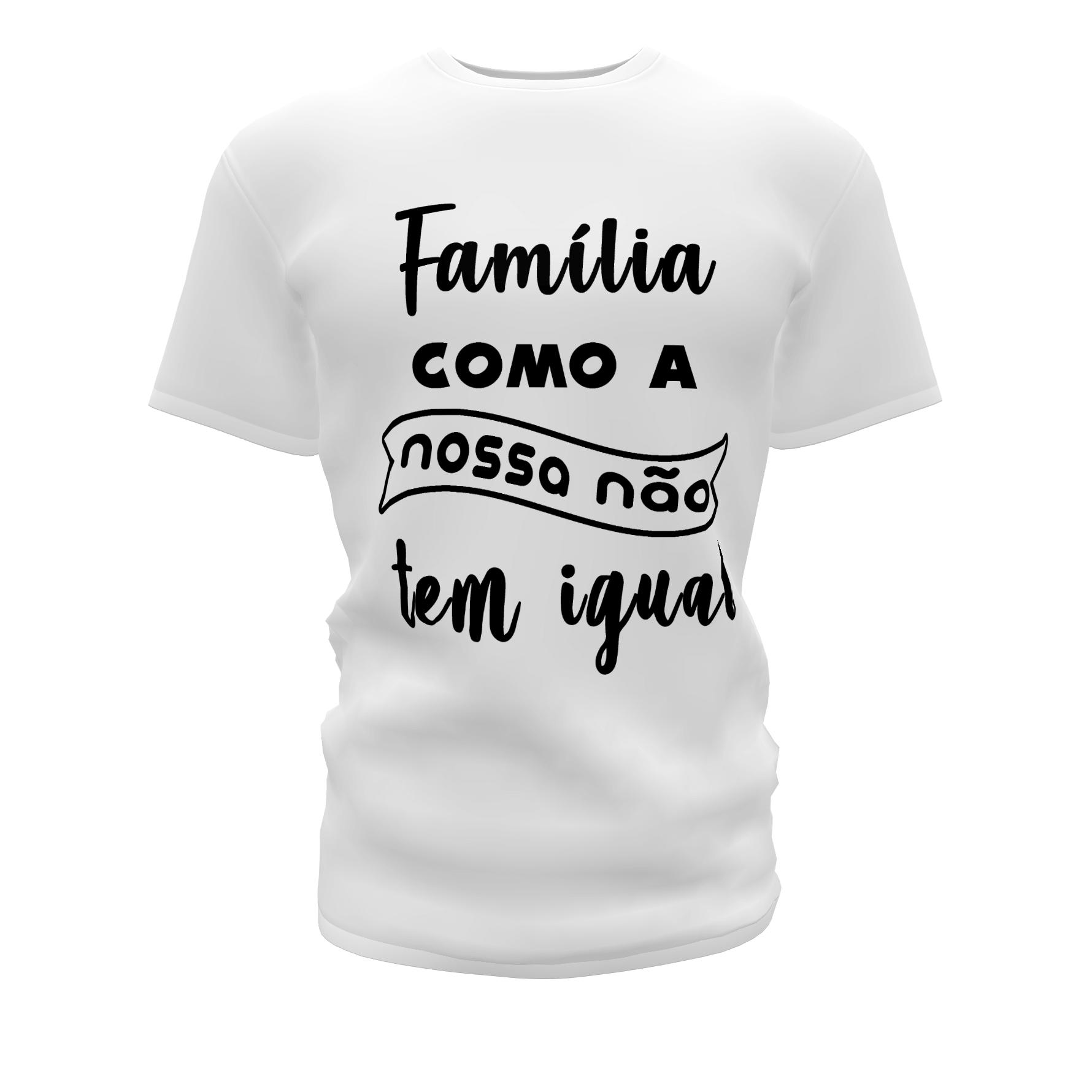 Camisetas Personalizadas para Festa de Família