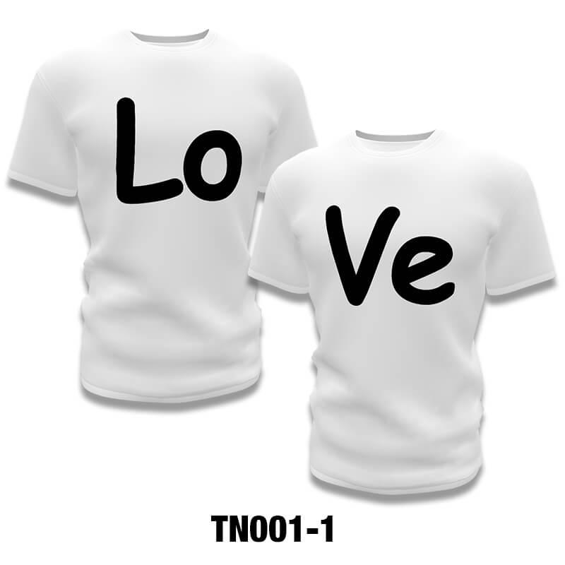 Camisetas Personalizadas para Namorados Usarem Juntos