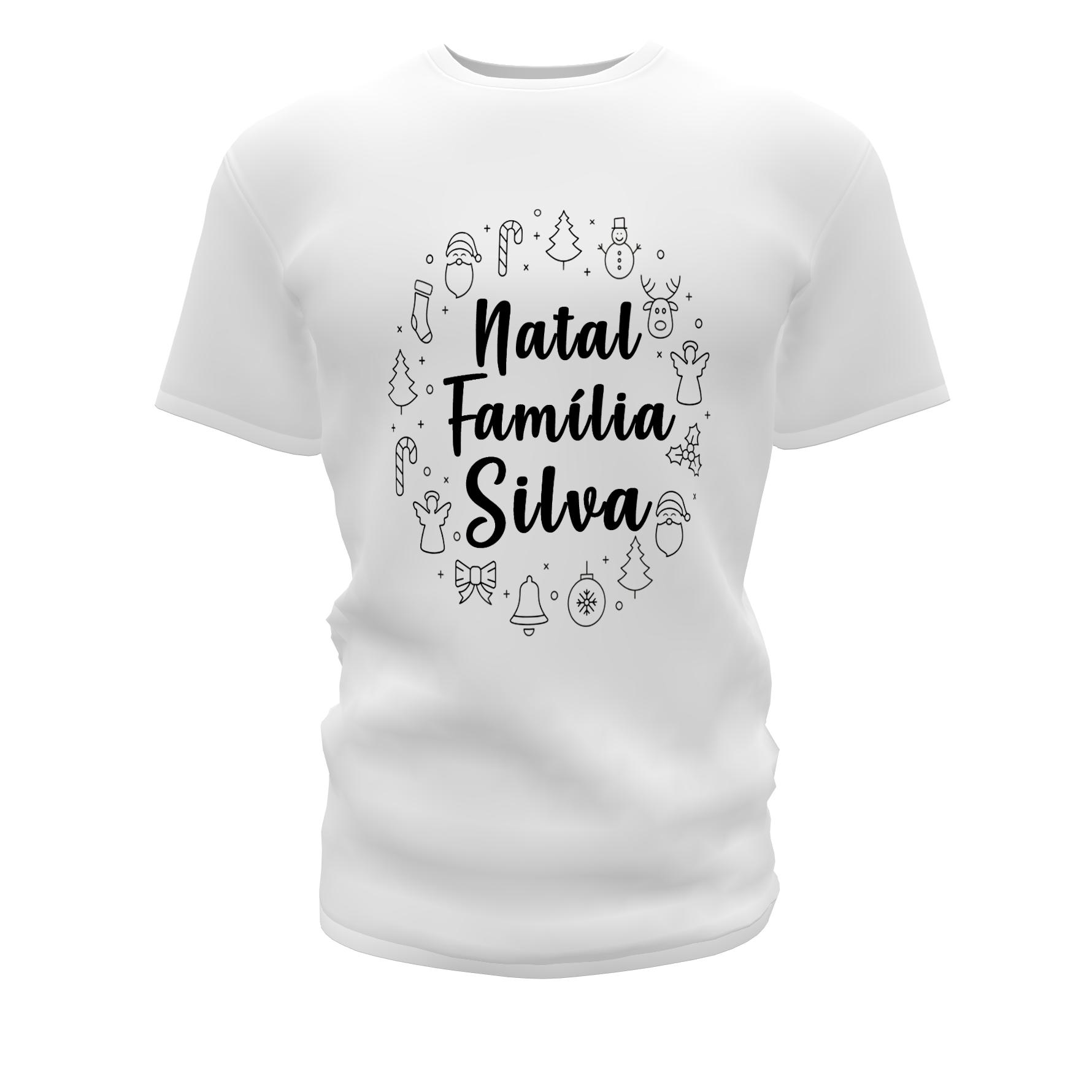 Camisetas Personalizadas para o Natal