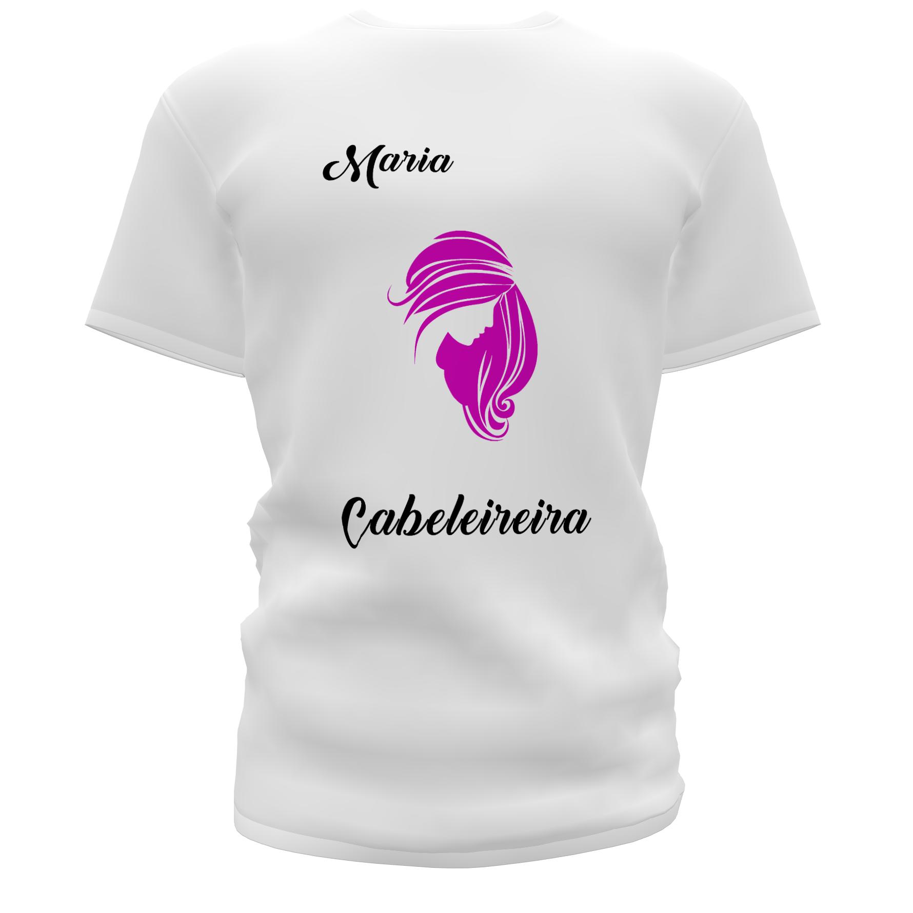 Camisetas Personalizadas para Salão de Beleza
