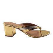 Tamanco CAMMINARE Splash Dourado