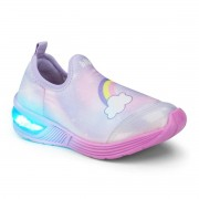Tenis Infantil Bibi Space Wave Astral/Rosa - Unicornio