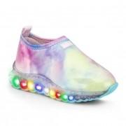 Tênis Infantil Feminino Bibi Roller Celebration Tie Dye