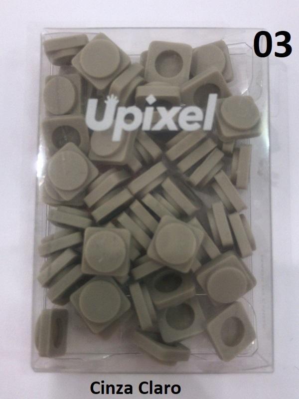 Pack com 60 Peças para Mochila BIBI/U-Pixel Cores variadas
