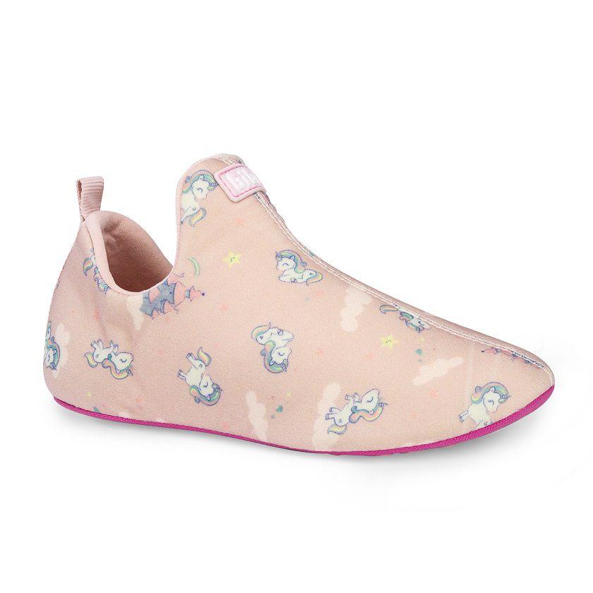 Lycra Infantil Bibi Feminino Rosa Estampado Unicornio 2WAY