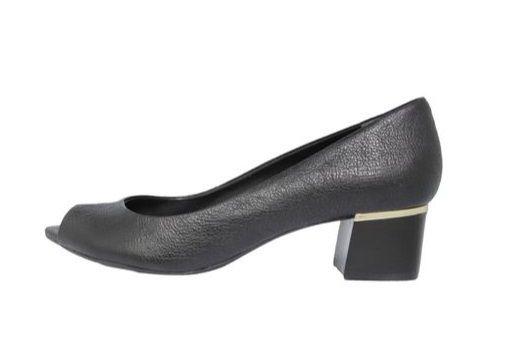 Sapato Peep Toe JORGE BICHOFF Preto