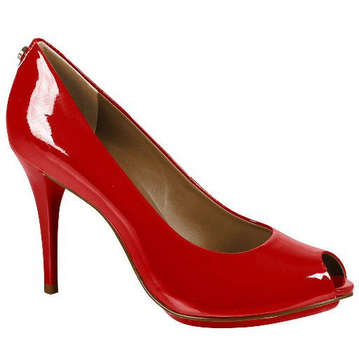Sapato Peep Toe JORGE BISCHOFF Vz Red