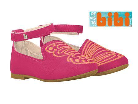Sapatilha Bibi Anjos Joy High pink