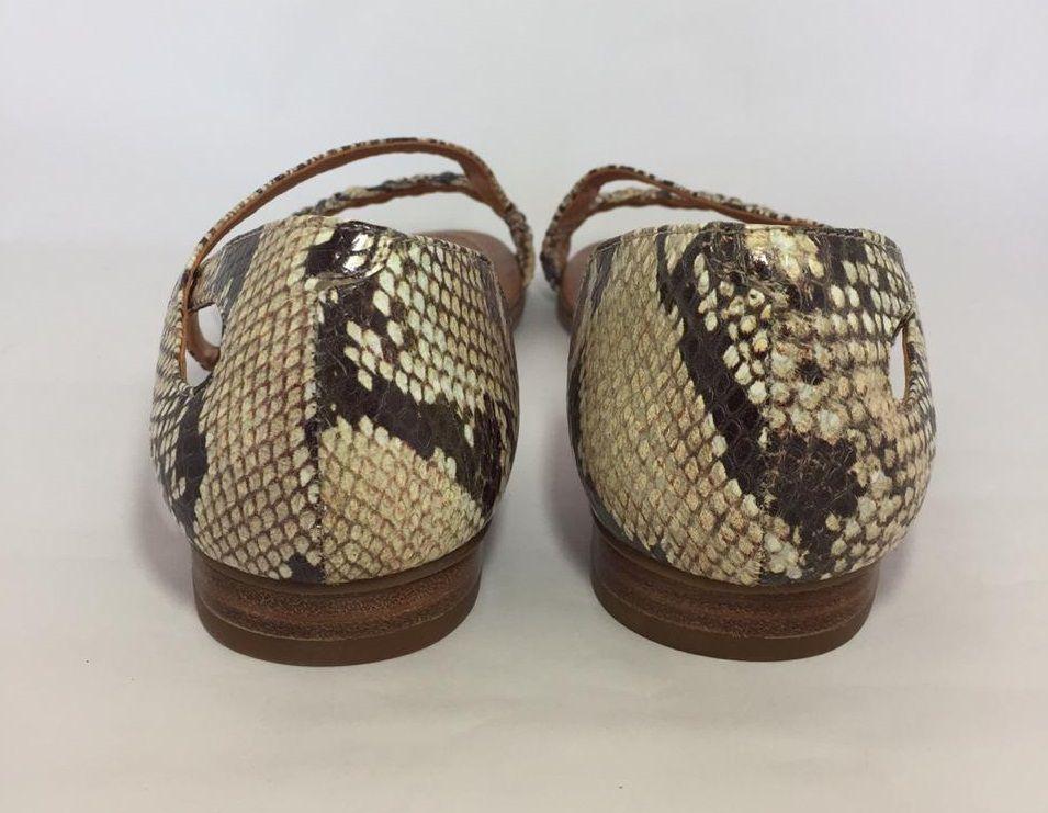 Sandália Rasteira UZA Snake
