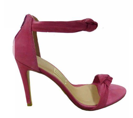 Sandália UZA Hot Pink Nobuck