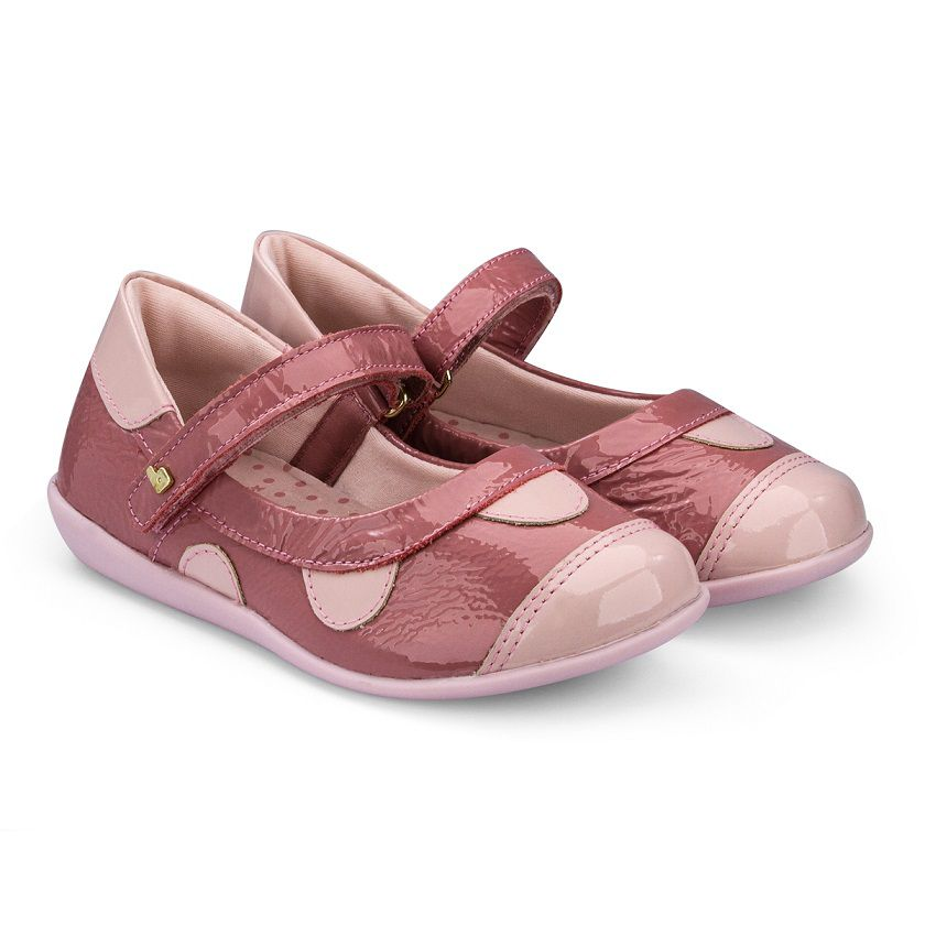 Sapatilha Infantil Bibi Feminina Rainbow Mini Rouge/Sweet