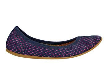 Sapatilha Infantil Bibi Socks Blue/Pink