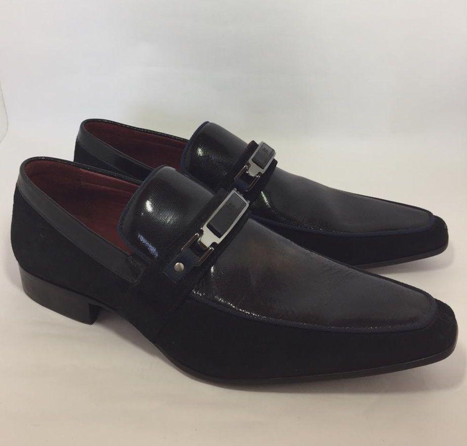 Sapato Masculino JORGE BISCHOFF Cabra Preta