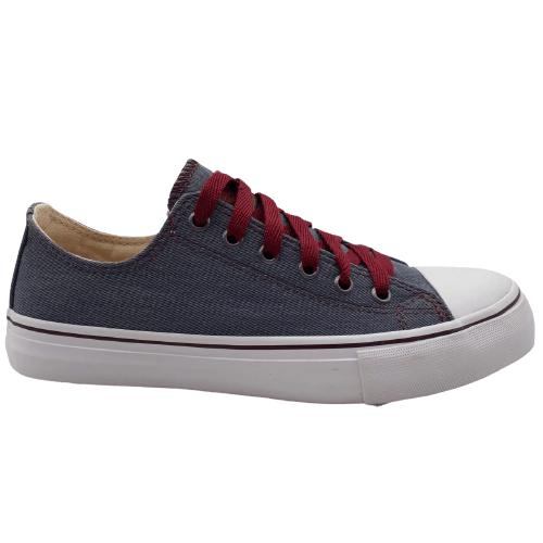 Tênis HNS Branco/Jeans Azul