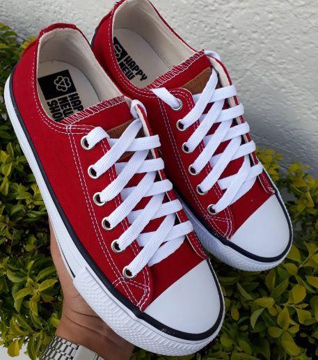 Tênis HNS Branco/Vermelho