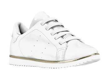 Tênis Infantil Bibi Flat Fashion Verniz Branco