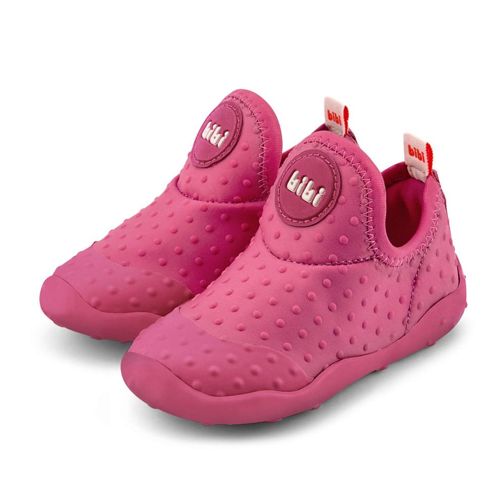 Tênis Infantil Feminino BIBI Fisioflex Fóin-Fóin Pink