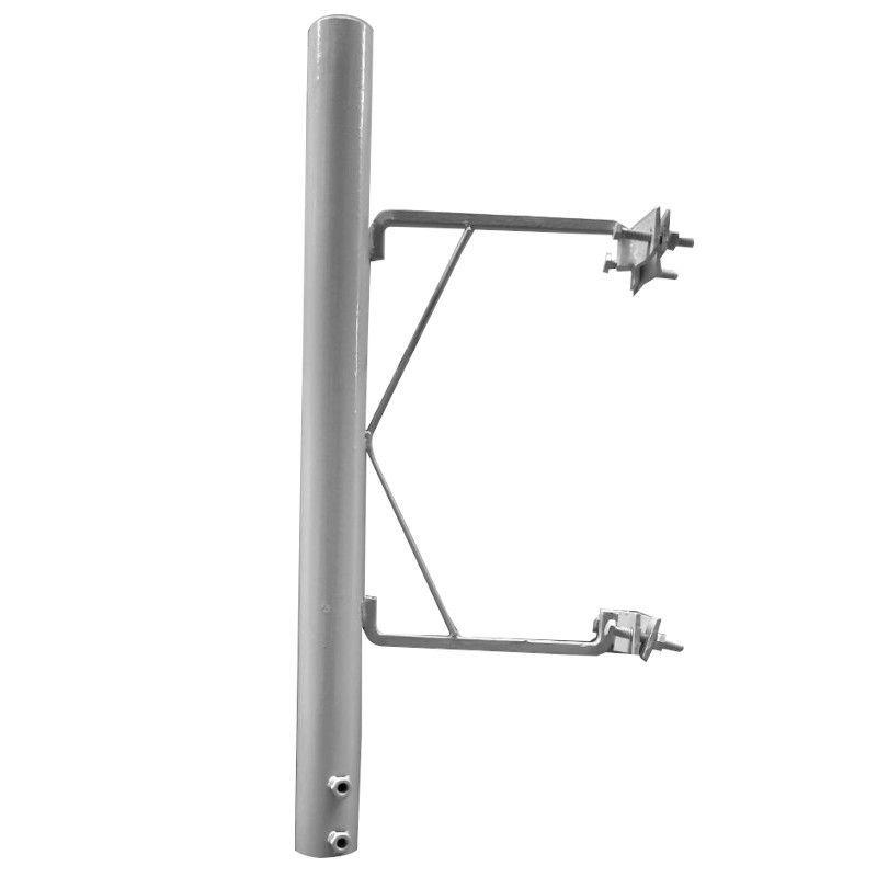 Antena Celular Parabólica Drucos 30 DBI 1800/2100 MHZ  1,50 M Fechada C/ Suporte Torre e Alimentador