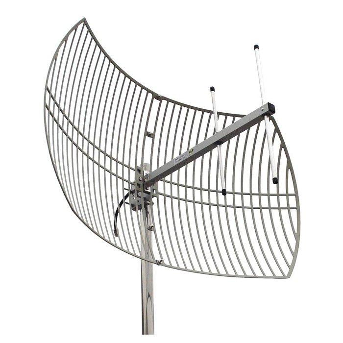 Antena Celular Semi Parabólica Drucos 22dBi 850Mhz