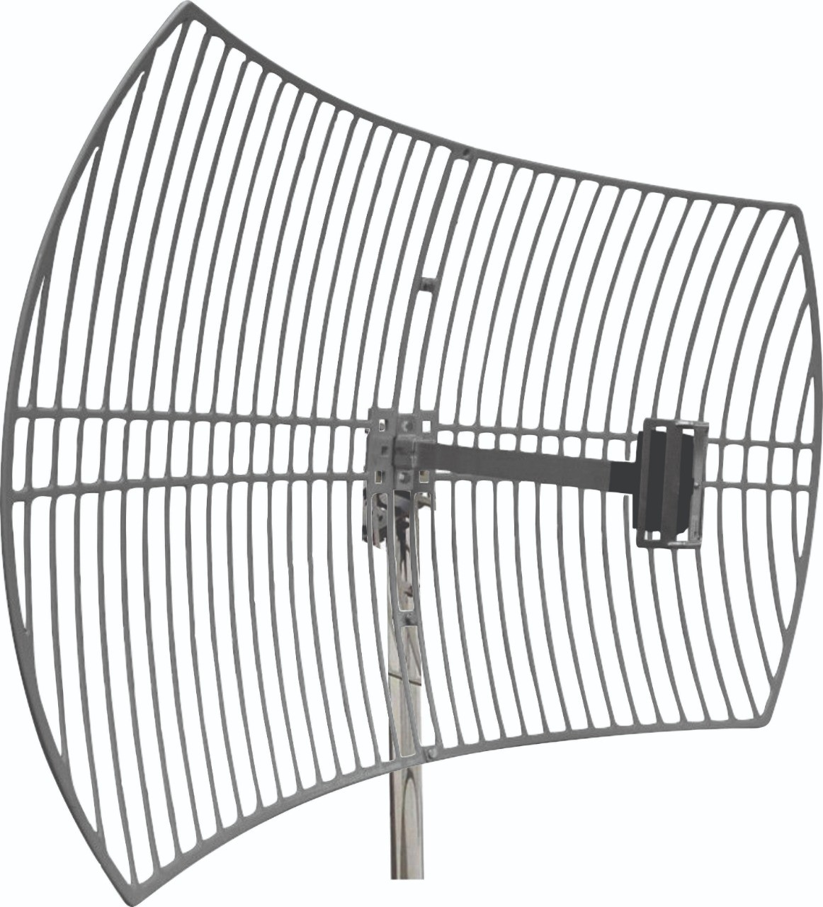 Antena Celular Semi Parabólica Drucos 24dBi 1800/2100Mhz