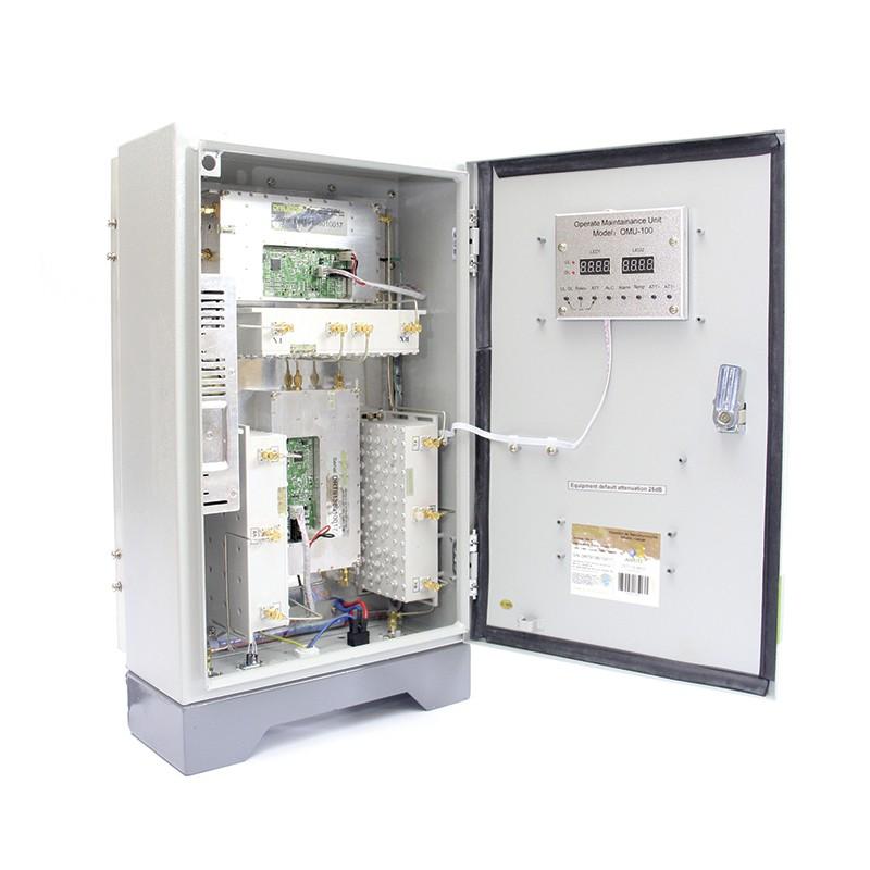 Kit de Instalação 1800Mhz 2Watts 90dB (Repetidor + Antenas + Cabo + Conectores)