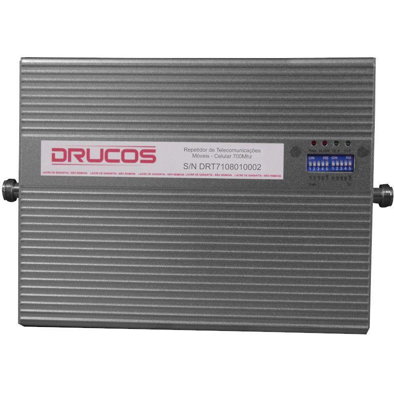 Repetidor Celular Drucos 700Mhz 02 Watts 83DB