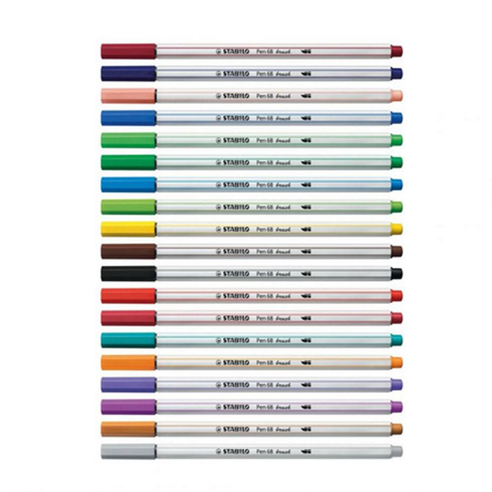 Caneta Brush Pen 68 Brush - Stabilo